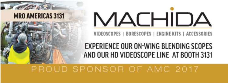 MRO 2017 Booth 3131 Machida Borescopes